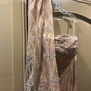 Unique Couture Evening Dress